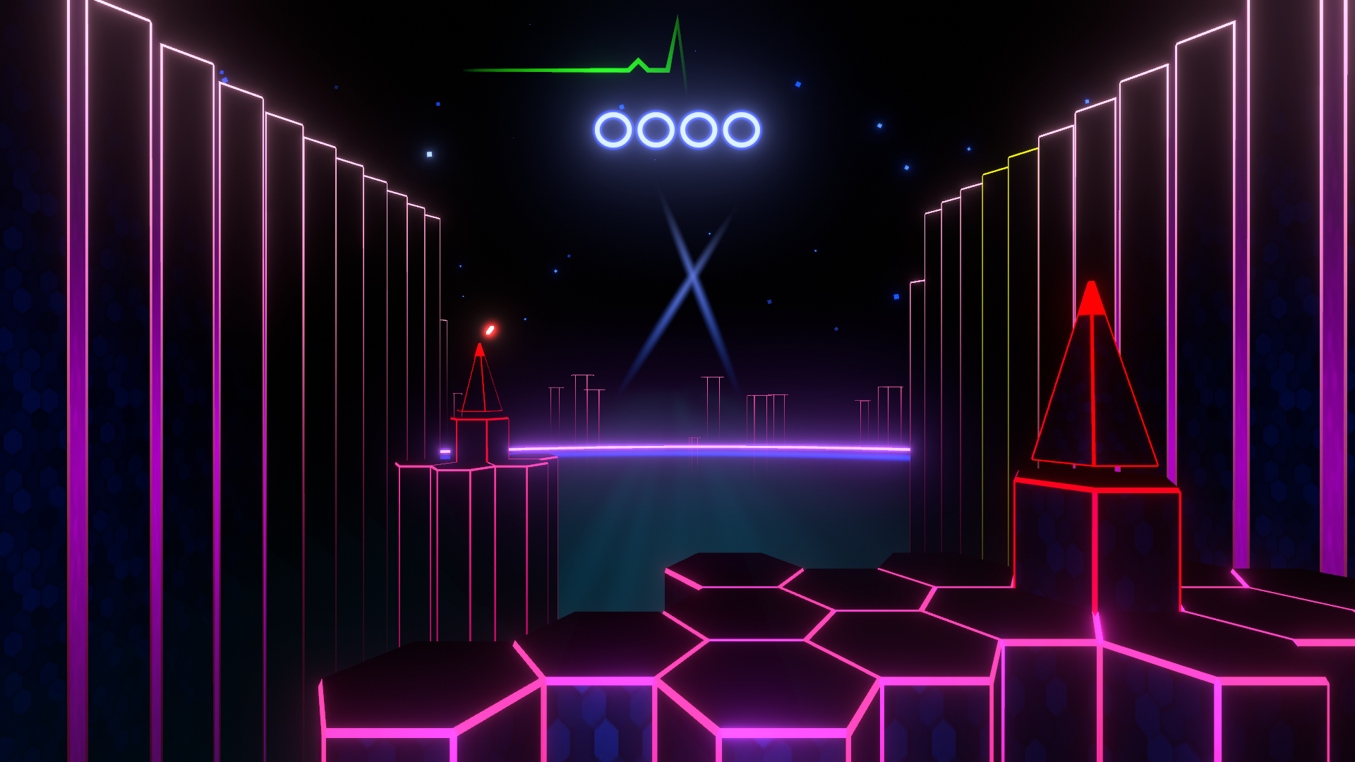 Discontinue, a new Synthwave style Virtual Reality game by PostBeta now on Steam